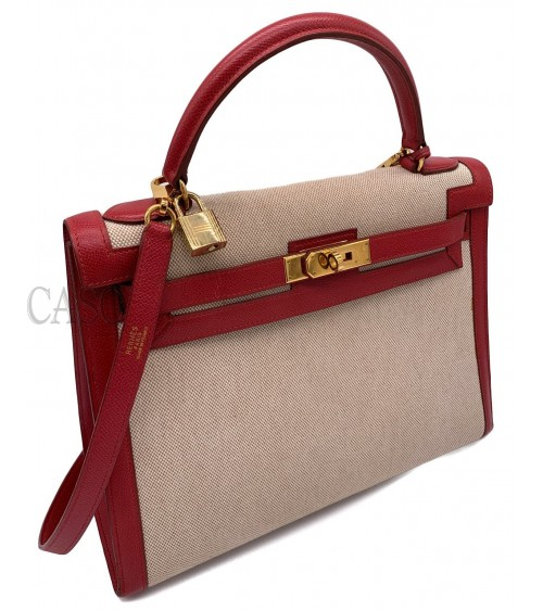 HERMES VINTAGE BAG KELLY MODEL